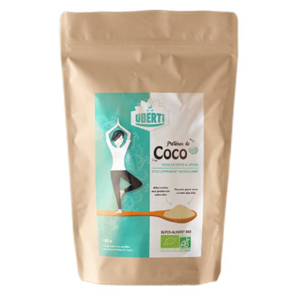 Uberti Poudre de Protéine de Coco Bio 180g