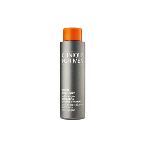 clinique clinique for men super energizer poudre nettoyante exfoliante anti-fatigue 50ml