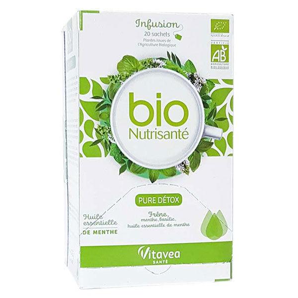 Nutrisanté Infusion Pure Détox Bio 20 sachets