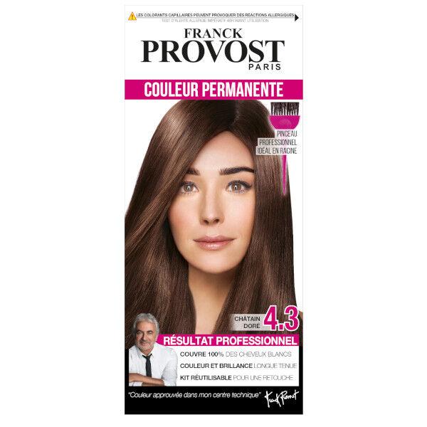 Franck Provost Coloration Châtain Doré 4.3