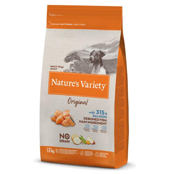Nature's Variety Original Chien Croquettes Petites Races Saumon 600g