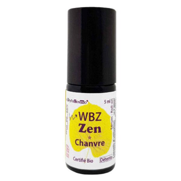 Phytocosmo WBZ Zen Sérum Chanvre Roll-On Bio 5ml