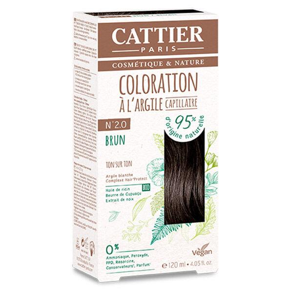 Cattier Coloration Ton sur Ton Brun 2.0 120ml
