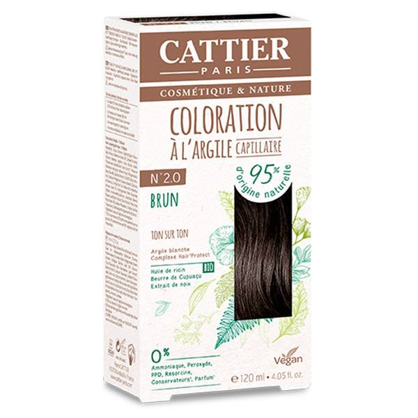 Cattier Coloration Ton sur Ton Brun 2.0 120ml