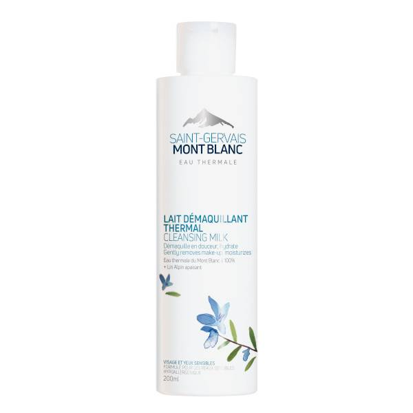 Saint Gervais Mont Blanc Lait Démaquillant Thermal 200ml