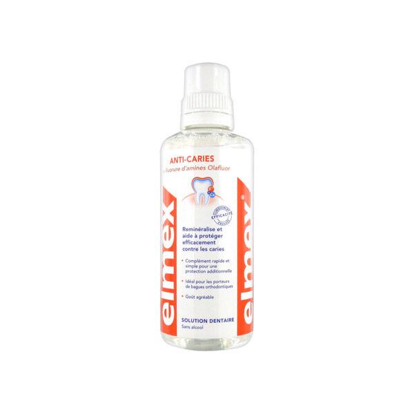 Elmex Anti-caries Solution Dentaire Sans Alcool 400ml