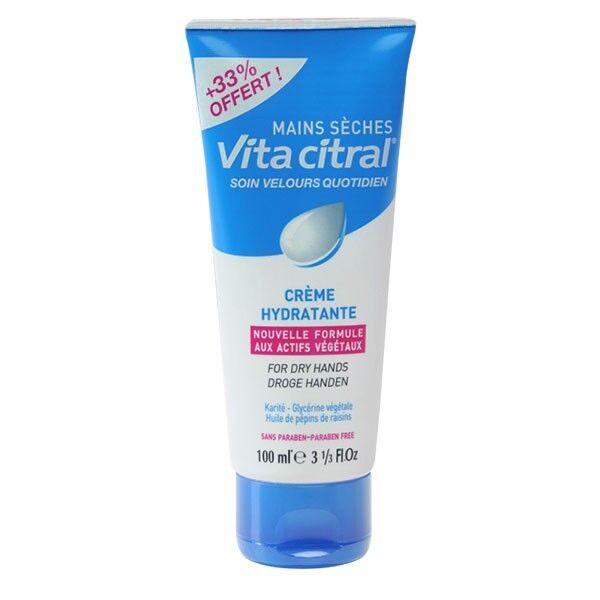 VitaCitral Crème Hydratante Mains Sèches 100ml