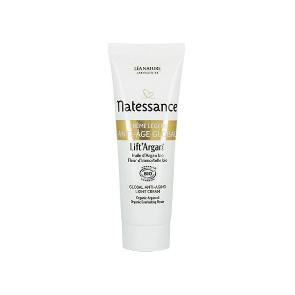 Natessance Lift'Argan Crème Légère Anti-Age Global Bio 50ml