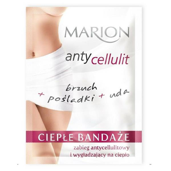 Marion Traitement Anti-cellulite en Bandage Chaud 50ml