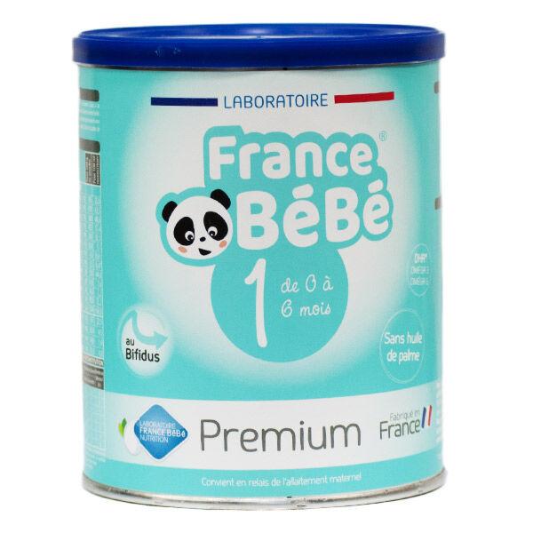 France Bébé Nutrition France Bébé Bio Premium Lait 1er Age 400g