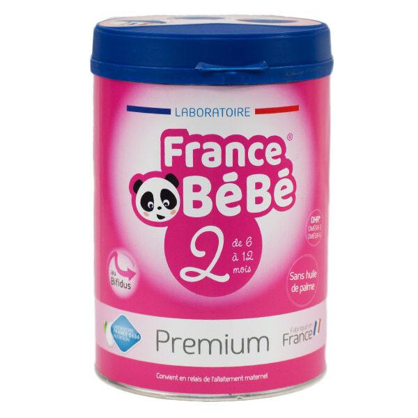 France Bébé Premium Lait 2ème Age 800g