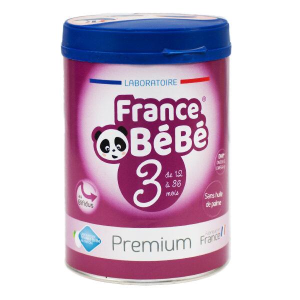 France Bébé Premium Croissance Lait 3ème Age 800g