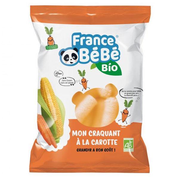 France Bébé Bio Mon Croquant Maîs/Carotte 20g