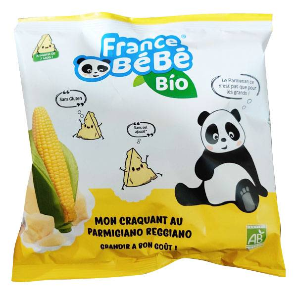 France Bébé Bio Mon Croquant Maîs/Parmesan 20g