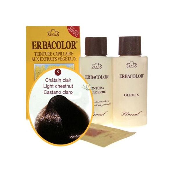 Erbacolor Coloration Châtain Clair 5