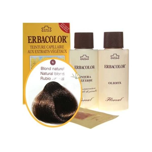 Erbacolor Coloration Blond Naturel 6