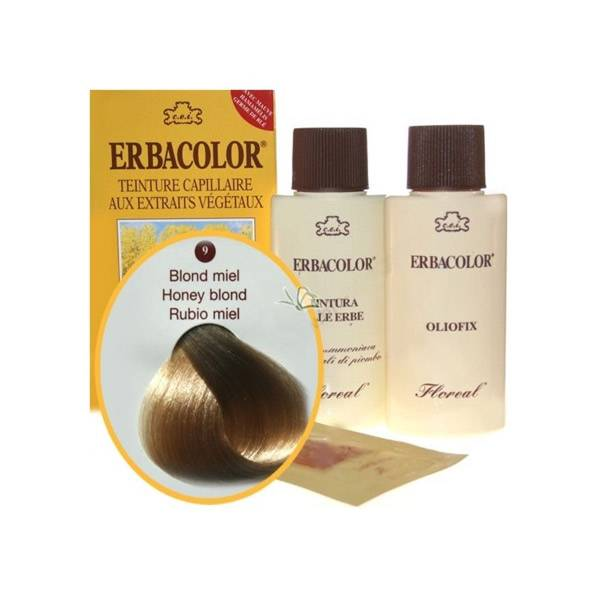 Erbacolor Coloration Blond Miel 9