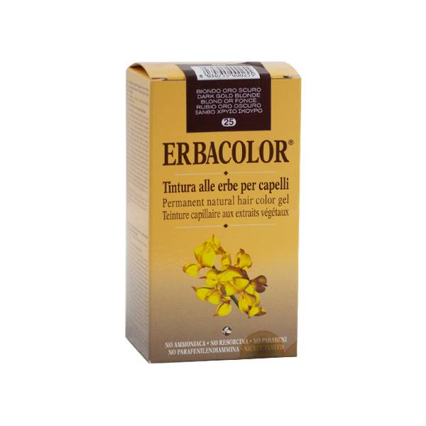Erbacolor Coloration Blond Or Foncé 25