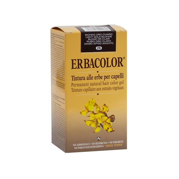 Erbacolor Coloration Blond Or Clair 26