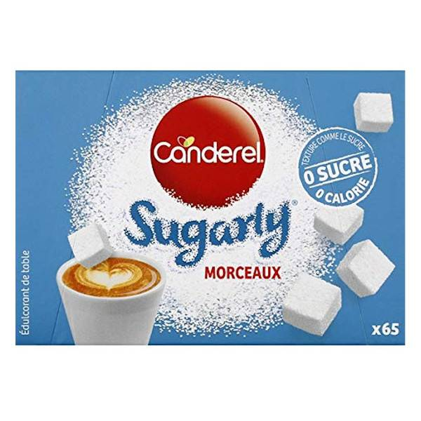 Canderel Sugarly Édulcorant de Table 65 morceaux