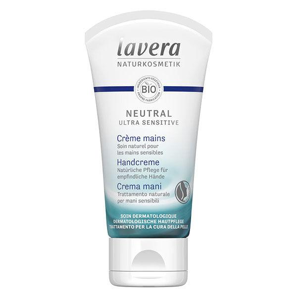 Lavera Neutral Ultra Sensitiv Crème Mains Bio 50ml