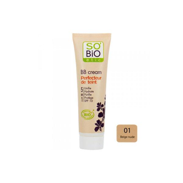 So Bio Etic BB Cream Perfecteur de Teint 5 en 1 01 Beige Nude 30ml