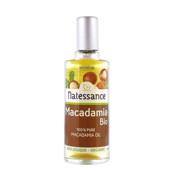 Natessance Huile Végétale Bio Macadamia 50ml