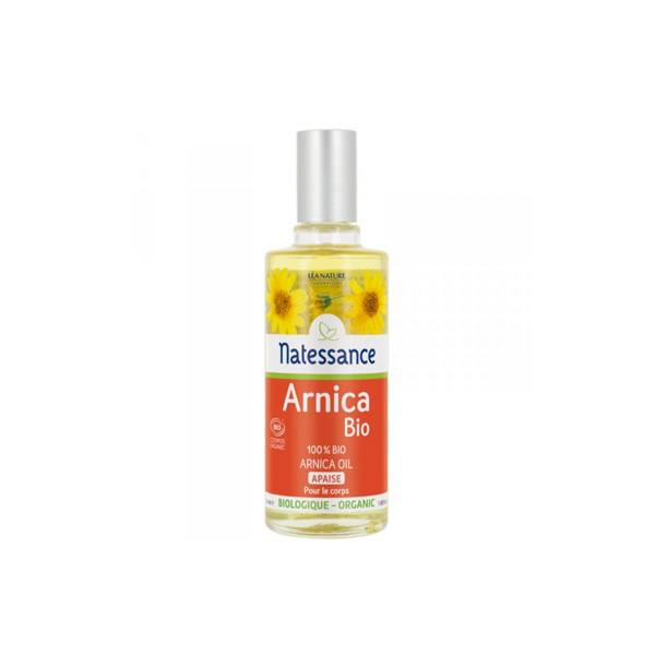 Natessance Huile Végétale Bio Arnica 100% Pure 50ml