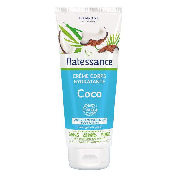 Natessance Crème Corps Hydratante Coco 200ml