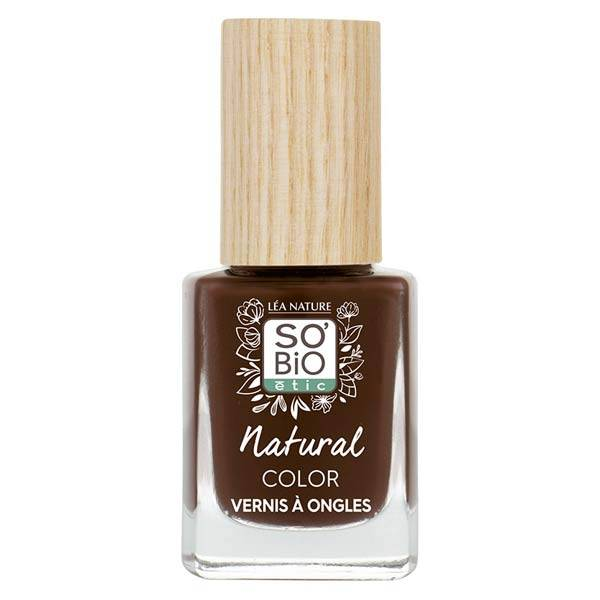 So'Bio Étic Vernis à Ongles Natural Color N°74 Brun Chocolat 11ml