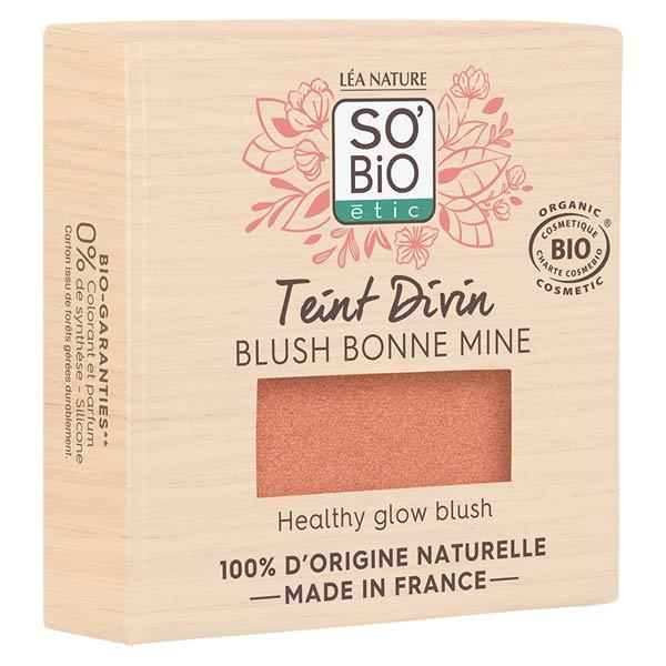 So'Bio Étic Teint Divin Blush Bonne Mine Bio N°02 Pêche 4g