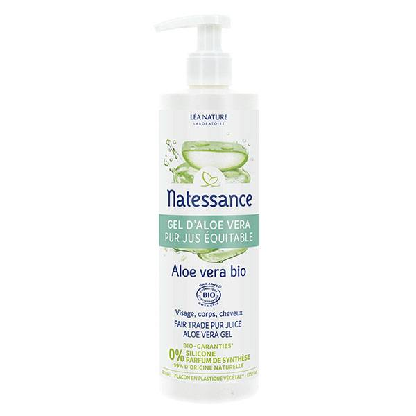 Natessance Bio Gel Aloe Vera 400ml