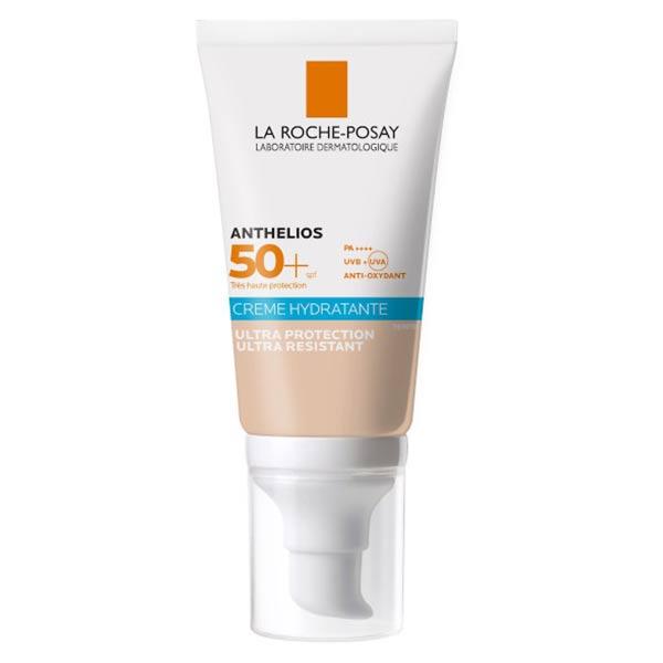 La Roche Posay Anthelios Crème Solaire Visage Hydratante Teintée SPF50+ 50ml