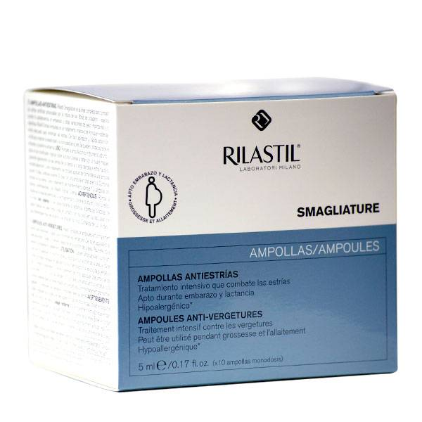 Rilastil Smagliature Anti Vergetures Ampoules 10 x 5ml