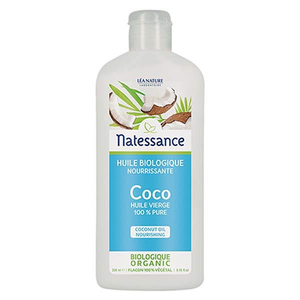 Natessance Huile de Coco Bio 100% Pure 250ml