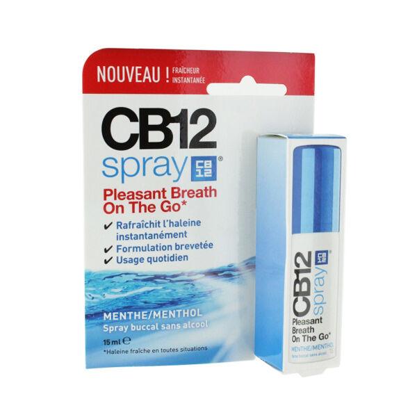 CB12 Spray Menthe-Menthol Sans Alcool 15ml