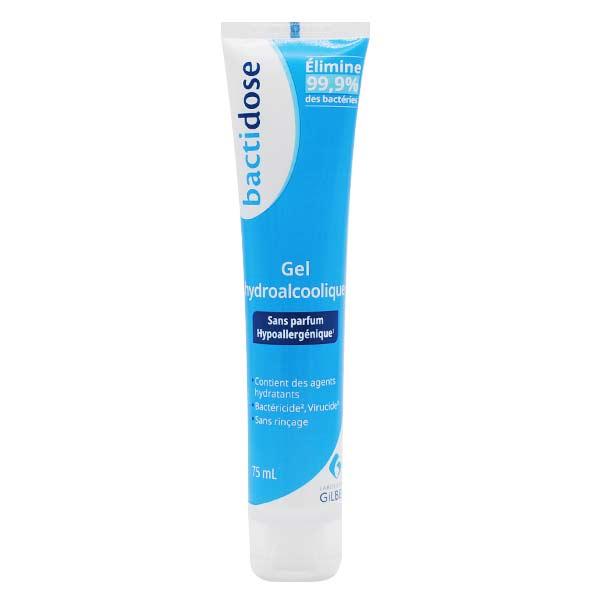 Bactidose Gel Hydroalcoolique tube 75ml