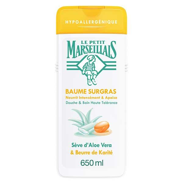 Le Petit Marseillais Baume Surgras Sève d'Aloe Vera et Beurre de Karité 650ml