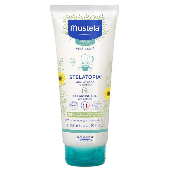 Mustela Stelatopia Gel Lavant 200ml