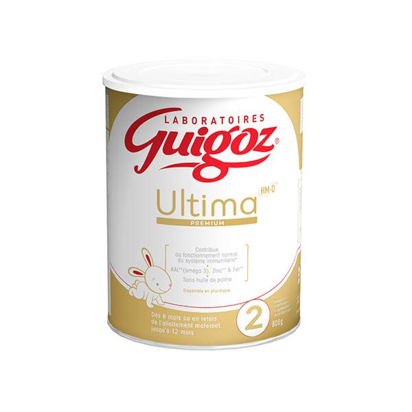 Guigoz Ultima 2ème Age 800g