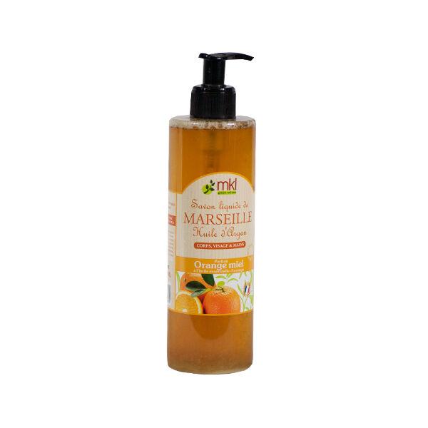 MKL Green Nature Savon Liquide de Marseille Orange Miel 400ml