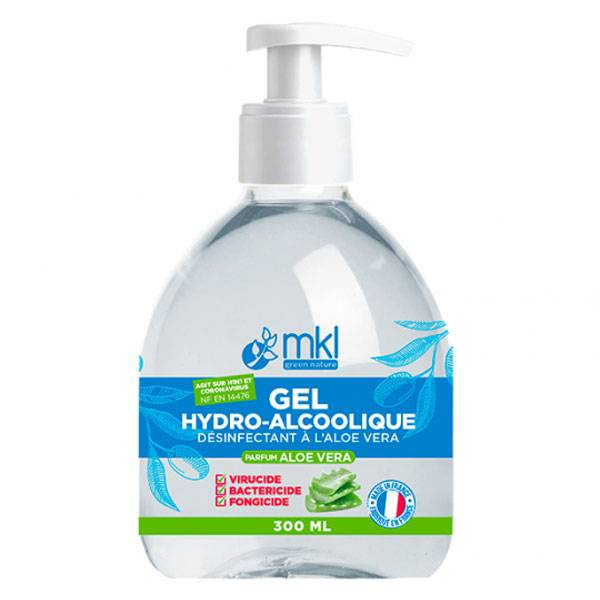 MKL Green Nature Gel Hydroalcoolique Aloe Vera 300ml