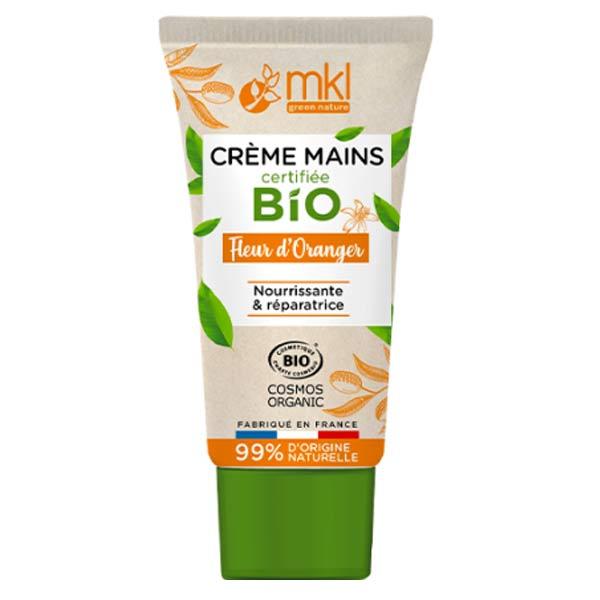 MKL Green Nature Crème Mains Fleur d'Oranger Bio 50ml