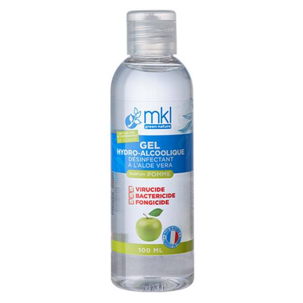 MKL Green Nature Gel Hydroalcoolique Pomme 100ml