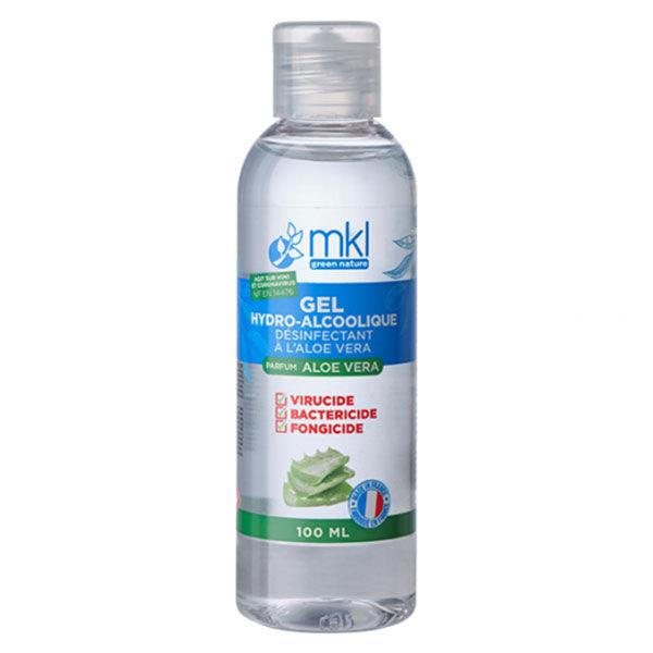MKL Green Nature Gel Hydroalcoolique Aloe Vera 100ml
