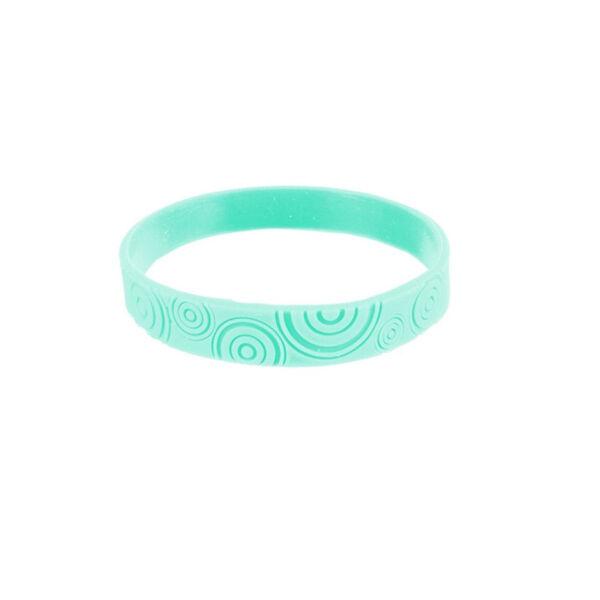 Bracelet Citronnelle Silicone Bleu Clair Taille L