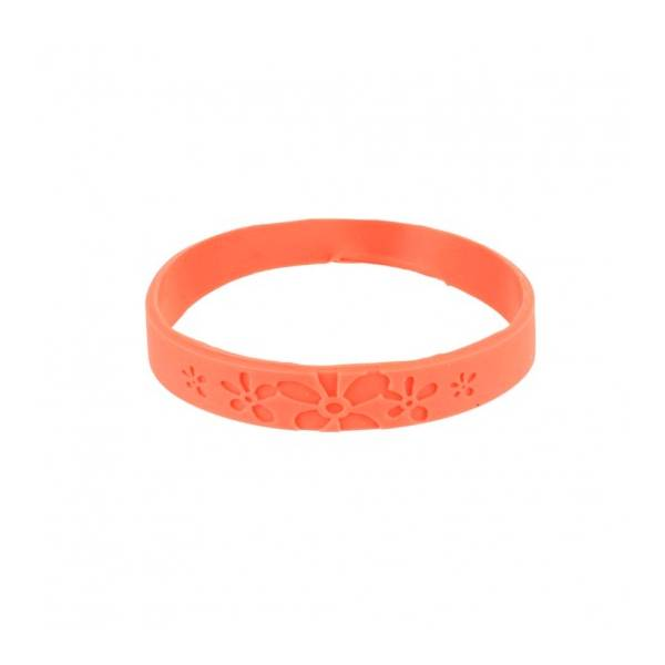 Bracelet Citronnelle Silicone Rose Taille S/M