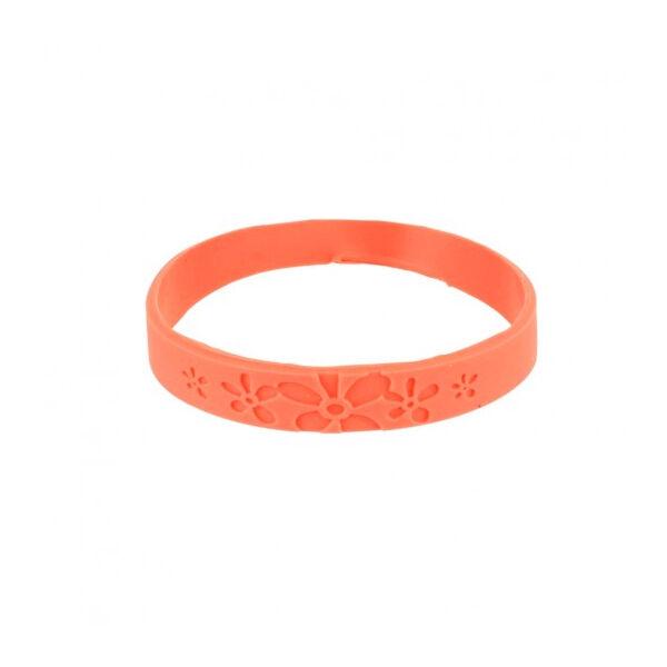 Bracelet Citronnelle Silicone Rose Taille S/M