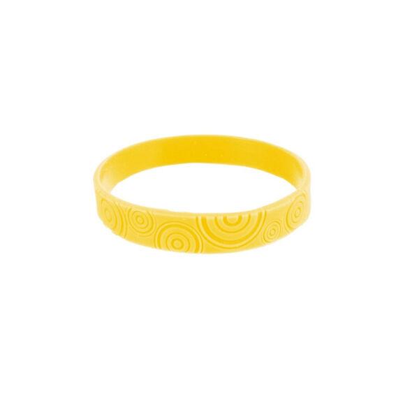 Bracelet Citronnelle Silicone Jaune Taille S/M