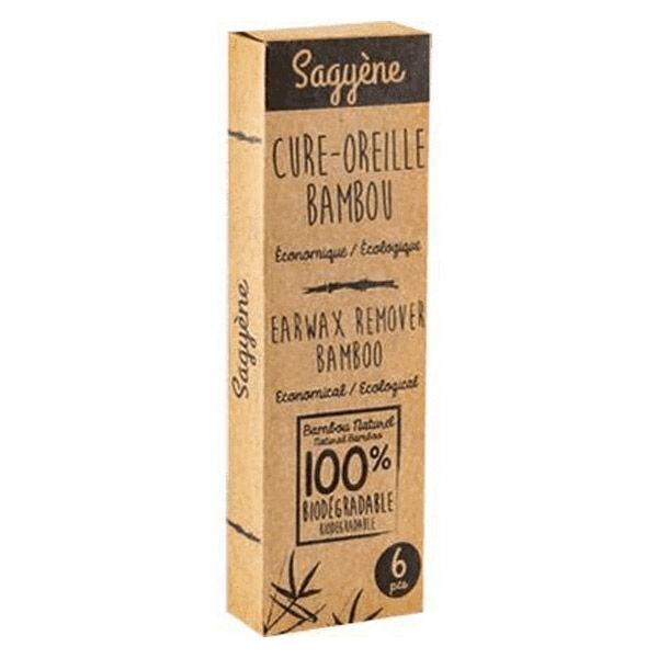 Sagyène Cure-Oreille Bambou 6 unités